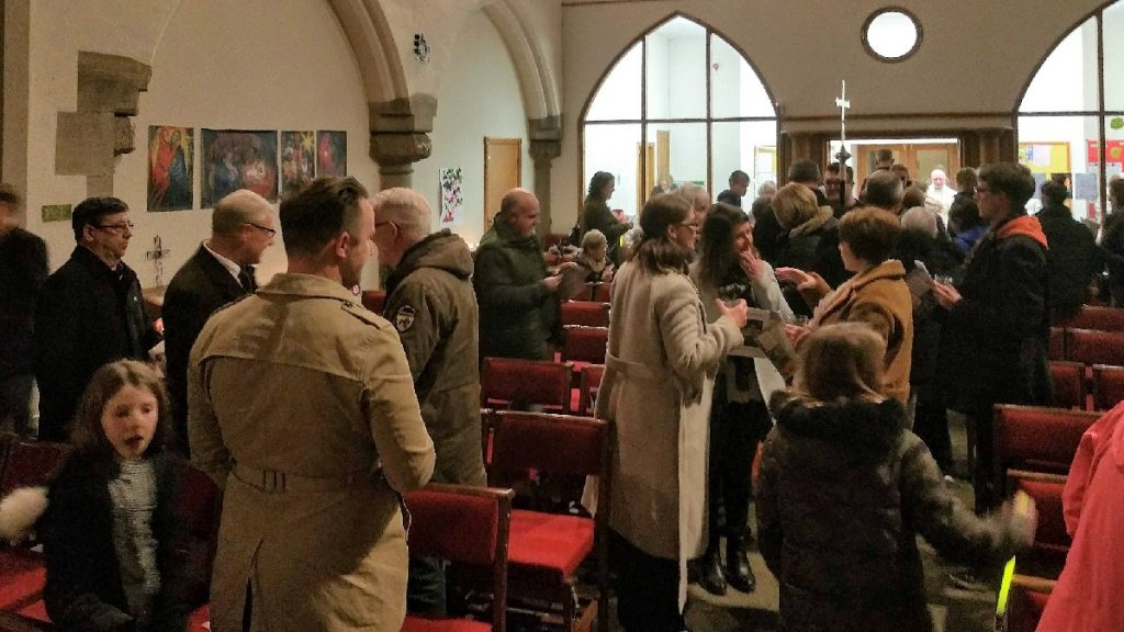 people in the church